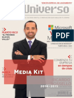 Media Kit de DigiUniverso 2014 Español