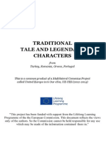 Traditional Characters From Turkey, Romania, Greece, Portugal