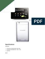 CloudPad 700TV