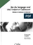 Troubles du langage oral chez l'enfant et l'adolescent