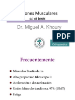 Lesiones Musculares Dr Khoury