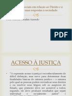 Demandas Sociais Em Relação Ao Direito e à Justiça.