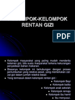 Kelompok Rentan Gizi