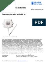 HI 141 Termometro Datalogger