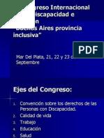 1º Congreso Internacional Sobre Discapacidad e Inclusión (1)