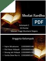 Sholat Fardhu