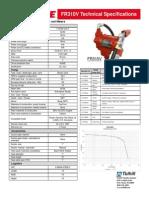 FR310V Technical Specifications