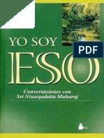 YO SOY ESO - Nisargadatta (Maharaj.)
