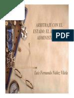 arbitraje administrativo
