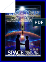 NewSpace 2012 Program
