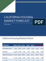 California Housing Market Forecast, June 2014