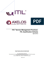 ITIL Qualification Scheme Brochure v2.0