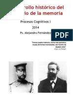 2ª Clase 2014 - Desarrollo Histórico Del Estudio de La Memoria