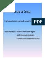 Ensaio de Dureza