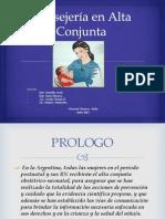 Consejería en Alta Conjunta DIAPOSITIVAS