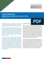 Mineduc - Medición de La Deserción Escolar en Chile