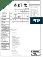 Mainboard ESC Model P4M890T M2