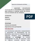 7.4 Registro y Reporte de La Evaluación de Daños