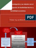 1.- El Plan de La Investigación