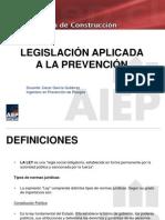 Presentacion Clases - Legislacion Aplicada a La Prevencion