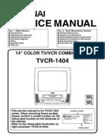Funai TVCR-1404 Service Manual