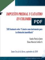 Impuesto Predial Catastro Colombia