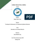 La Informatica en La Enseñanza Educativa Tema II Uapa (1) (1)