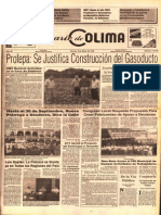 Profepa Justifica Gasoducto Colima