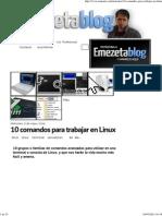 10 Comandos Para Trabajar en Linux _ Emezeta