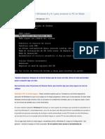 Activar La Tecla F8 en Windows 8 y 8
