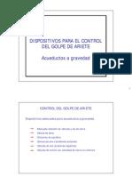 Instituto Golpe Ariete Acueduc Gravedad