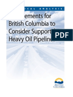 B.C.'s pipeline conditions