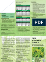 PCIC Rice Crop Program