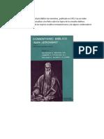 JBC Ensayo - Interpetacion en La Iglesia Catolica Romana