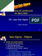 Lean Sigma Bb Mejora A