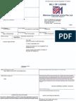 Bill of Lading LAXM02595