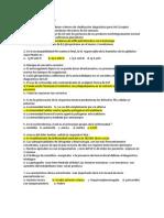 Exámen de Reumatología X