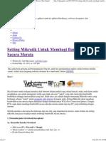 Setting Mikrotik Untuk Membagi Bandwidth Secara Merata _ Info Gaptek