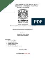 Informe Distribución de Tiempos de Residencia