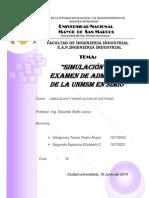 Simulacion Del Examen de Admision