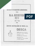 Reporte de Registro Direccional 15-09-1983