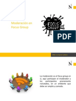 Moderación Focus Group