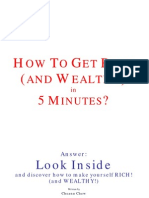 How to get Rich & Wealthy in 5 minutes!
