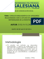 Evelyn Flores- Categorias Metodologia de La Investigacion