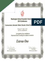wsca presentation certificate 2014