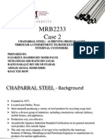 QCM Case Chapparal Steel