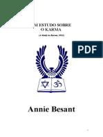 Annie Besant - Un Estudo Sobre o Karma