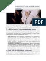 Tipos de Enfermedades Crónicas y Listado de Las Más Comunes