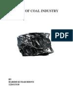 Study of Coal Industry