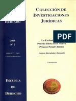 Hernandez Hector La Exclusion de Prueba Ilicita